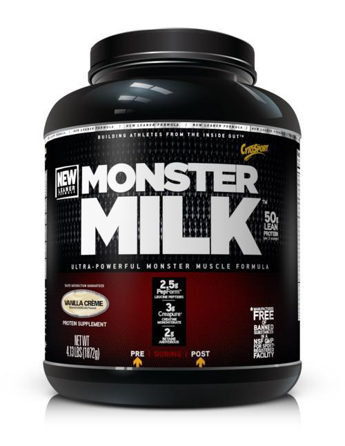 79014 Monster Milk 5.95 lbs. - Vanilla Creme