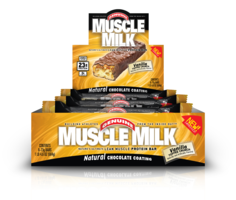 50611 Muscle Milk Bar 73g 8pk - Vanilla Toffee Crunch
